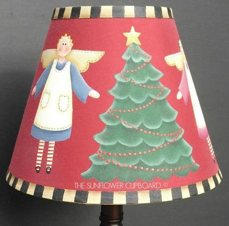 Christmas Angel Lampshade