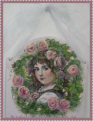 VINTAGE FLOWER GIRL PINK